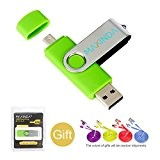 8GB/16GB/32GB/64GB OTG Telefono mobile /Tablet PC Trasformazioni duale Micro USB / USB 2.0 Memoria Unità flash In movimento Disco USB+1M ...