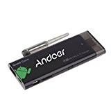 Andoer® CX919 mini pc box tv Stick QuadCore Android 4.4 2 G/16G Bluetooth 4.0 1080P con XBMC DLAN WiFi Antenna esterna