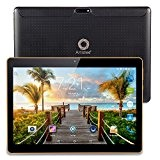 "Artizlee ATL-21T 3G Tablet 10"" IPS Display Nero (Dual Sim Android 4.4 Quad Core Phablet, Capacità 16GB, RAM 1GB, Wi-Fi, ..."