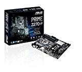 ASUS Prime Z270-P Scheda Madre, Interfaccia ATX, Socket Intel 1151, Nero