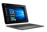 "Asus T101HA-GR029T Portatile, Display 10.1"" HD, Intel Atom Z8350, RAM 4 GB, 64 GB eMMC, Windows 10, Grigio [Italia]"