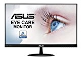 Asus VX24AH Monitor, 23.8'' WQHD IPS 2560x1440, sRGB, Frameless, Flicker Free, Low Blue Light, Certificato TUV