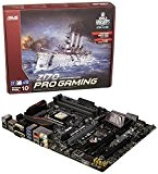 Asus Z170 Pro Gaming Intel Scheda Madre, 4 DIMM DDR4 3400 MHz, LGA1151, Nero