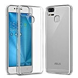 ASUS Zenfone 3 Zoom Custodia, Orlegol Zenfone 3 Zoom Cover Case Ultra-Sottile Slim fit Trasparente Crystal Bumper Caso Shock-Absorption Silicone ...