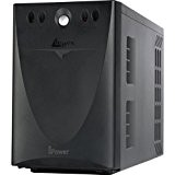 Atlantis A03-S1001 Stepwave Line Interactive UPS, 1000 VA, 600 W, Technology V-OUT 200-243Vac, USB, Nero