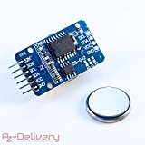 azdelivery Real Time Clock DS3231 I2 C per Arduino, Raspberry Pi e Microcontroller