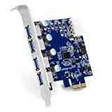 CSL - Scheda 4 Port USB 3.0 (Super Speed) PCIe scheda controller Express | scheda di interfaccia USB 3.0 | ...