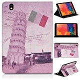 DONZO Wallet City tablet bag per Samsung Galaxy Tab Pro 8.4 T320 T325 multicolore