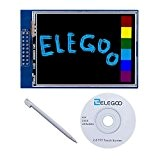 Elegoo UNO R3 2.8 Inches TFT Touch Screen con SD Card Socket con Tutorial in Inglese e Tutte le Tecniche ...