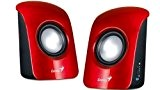 Genius Sp-U115 Altoparlanti, 1.5 W, USB Power , Rosso