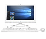 HP All-In-One 20-C020Nl Desktop PC, APU Quad-Core E2-7110, 4 GB di SDRAM, SATA da 1 TB, AMD Radeon R2, Bianco