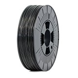 Ice Filaments ICEFIL1ABS021 Filamento ABS 1.75mm, 0.75kg, Nero