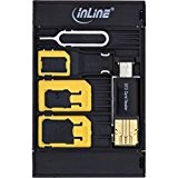 InLine SIM-Box SIM card adapter - SIM/memory card adapters (10 g, Blister)