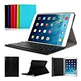 iPad Air 1 iPad 2017 CoastaCloud QWERTY Italiano Layout Ultrathin Custodia con Supporto e Tastiera Bluetooth staccabile per Apple iPad ...