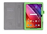 ISIN Custodia Tablet Serie Premium Pelle PU Stand Cover per ASUS Zenpad 10 Z300C Z300M 10.1 pollici Android Tablet con ...