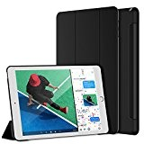 JETech Custodia per nuovo 2017 iPad 9.7 Case Cover (Apple New iPad 2017), Auto Sveglia/Sonno (Nero)
