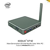 KODLIX AP42 Intel Apollo Lake N4200 (2M cache, fino a 2.5GHz) DIY SSD MINI PC , Scheda Grafica 505 , ...