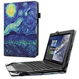 Lenovo MIIX 310 10.1-Inch Custodia Case, Infiland Slim Folio in pelle Smart Ultra sottile e leggera Case Cover Custodia per ...