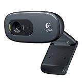 Logitech C270 Webcam HD, Nero/Antracite