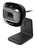 Microsoft LifeCam HD-3000 - webcams (1280 x 720 pixels, 720p, 1280 x 800, USB 2.0, Black, CMOS)