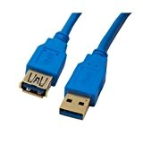 Neon 0118A-USB3-100CM USB cable - USB cables (3.0 (3.1 Gen 1), USB A, USB A, Male/female, Blue)