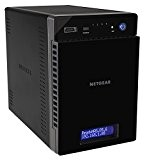 Netgear RN21400-100NES ReadyNAS Serie 210, Modello Desktop Diskless, Processore Quad Core a 1,4 GHz, 2 Porte Gigabit, 3 Porte USB ...