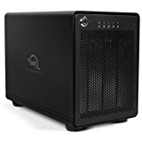 OWC ThunderBay 4 Professional-Grade Enclosure, four-bay drive enclosure with dual Thunderbolt 2 ports, RAID-ready w/cable. Add your own drives! Supports ...