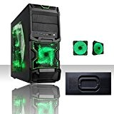 PC DESKTOP GAMING CHRONOS VENTOLA GREEN AMD A6 6420K 4.0 GHZ BLACK EDITION (TURBO MAX FINO A 4.2GHZ)/ WIFI /RAM ...