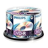 Philips DVD-R 4.7 GB - Confezione da 50
