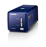 Plustek OF8100 Scanner Professionale per Diapositive, Blu