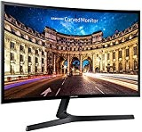 Samsung C27F396 Monitor Curvo, 27'' Full HD, 1920 x 1080, 60 Hz, 4 ms, Freesync, D-sub, HDMI, Nero