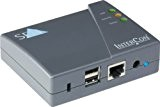 SEH PS03a Ethernet LAN Black print server - print servers (Ethernet LAN, IEEE 802.3, 10,100 Mbit/s, TCP/IP, DHCP, BootP, ARP, ...