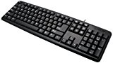 Techly USB Keyboard 104 keys American Layout Black IDATA 955-UBK-AM - keyboards (USB, Universal, English, Windows 2000, Windows 7 Home ...
