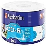 Verbatim CD-R 80MIN Printable 43794 - Confezione da 50
