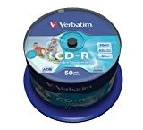 Verbatim CD-R AZO Wide Inkjet Printable - ID Branded CD-R 700MB 50pezzo(i)
