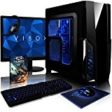 VIBOX Pyro GS850T-41 PC Pacchetto Gamer PC - 4,2GHz AMD FX CPU 8-Core, GTX 1050 Ti GPU, Avanzato, Desktop Gaming ...