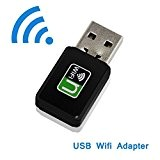 wosuk WiFi Dongle Internet ad alta velocità 300/600mbps USB scheda adattatore di rete wireless USB WiFi per Windows XP/Vista/7/8/8.1/10 (32/64bits) Mac ...