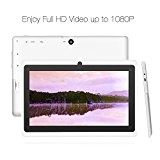 Yuntab 7 pollici HD quad-core Android 4.4 KitKat Google Tablet PC, Allwinner A33, flash di 8GB NAND doppia fotocamera 1024x600 ...