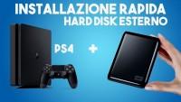 PS4: Come Installare giochi su HARD DISK ESTERNO
