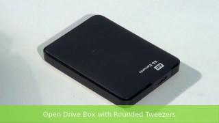 Recuperare dati da hard disk esterno Western Digital non riconosciuto